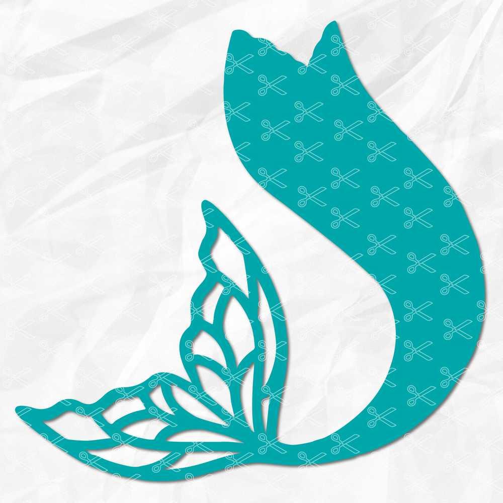 mermaid tail svg free #406, Download drawings