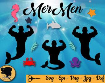 Merman svg #19, Download drawings