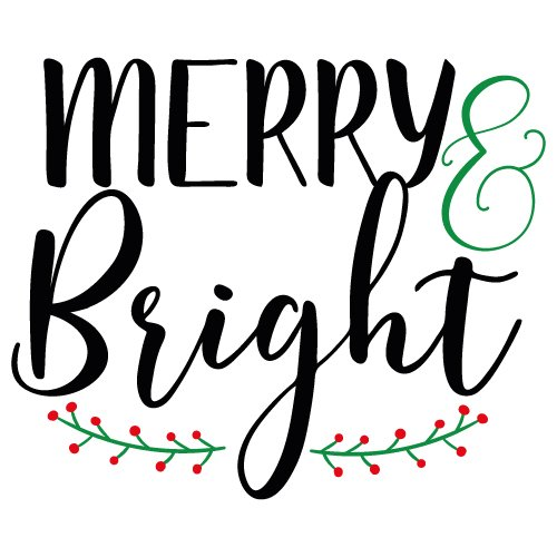 merry and bright svg free #937, Download drawings