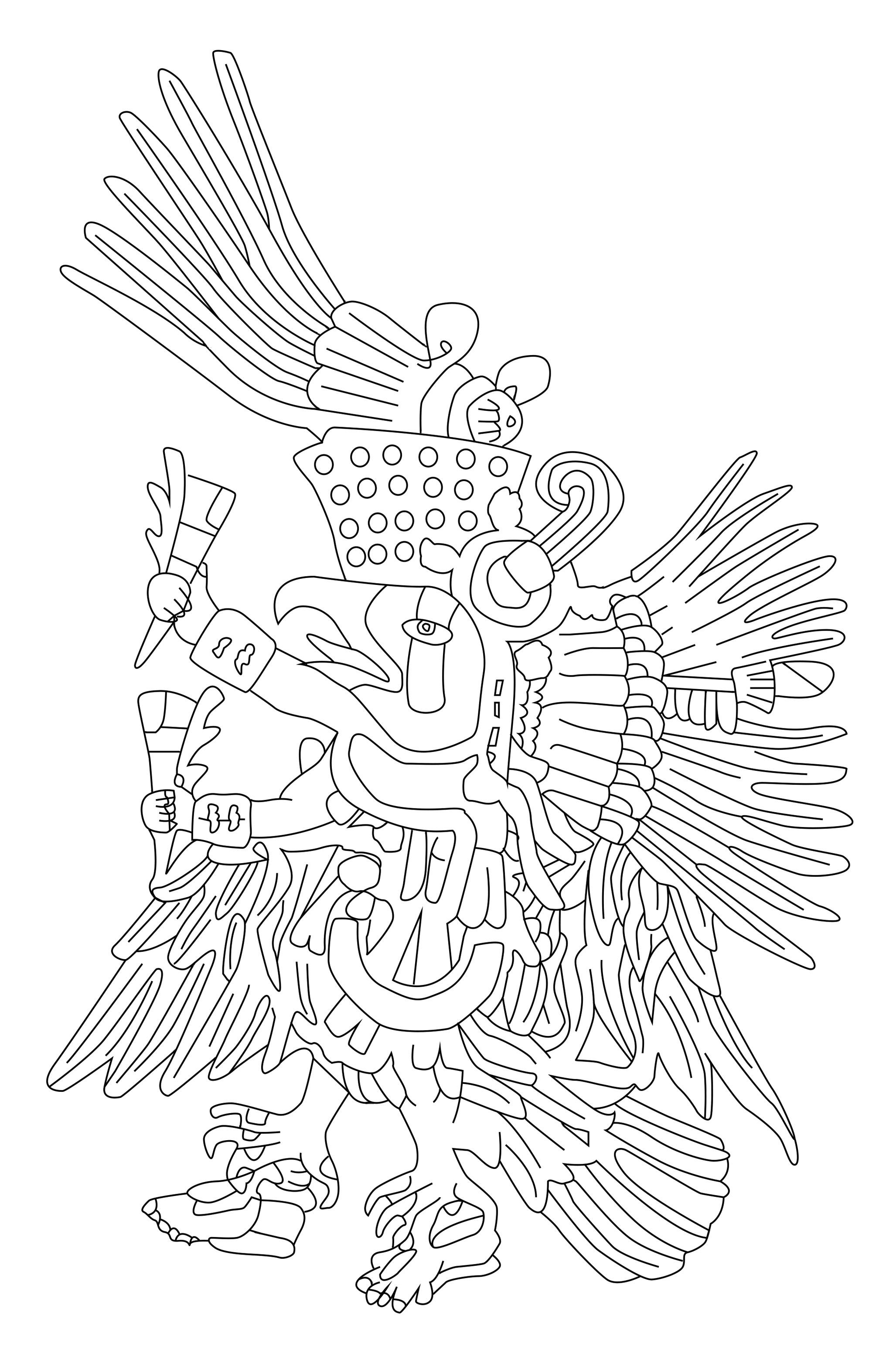Mesoamerica coloring #1, Download drawings
