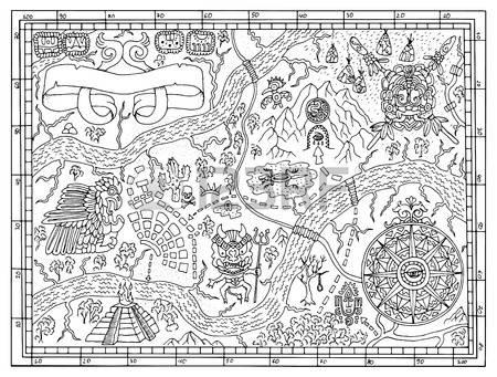 Mesoamerica coloring #11, Download drawings