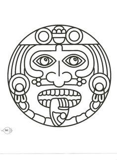Mesoamerica coloring #16, Download drawings