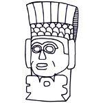 Mesoamerica coloring #12, Download drawings