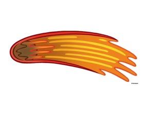 Meteorite clipart #1, Download drawings