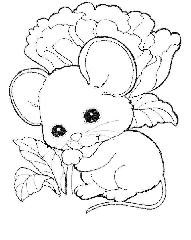 Mice coloring #1, Download drawings