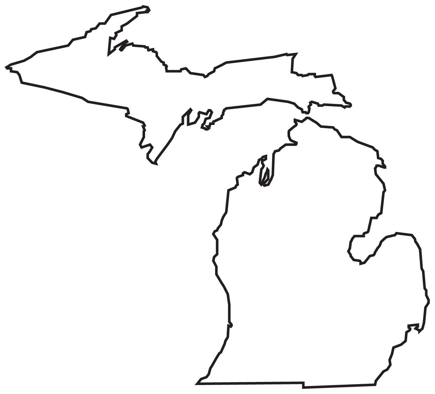 Michigan clipart #14, Download drawings