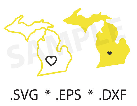 Michigan svg #3, Download drawings