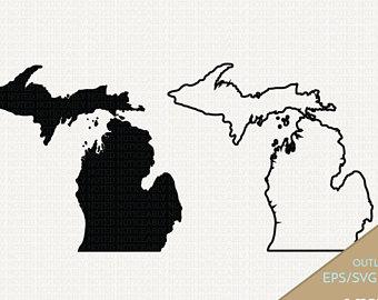 Michigan svg #8, Download drawings