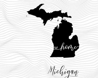 Michigan svg #6, Download drawings