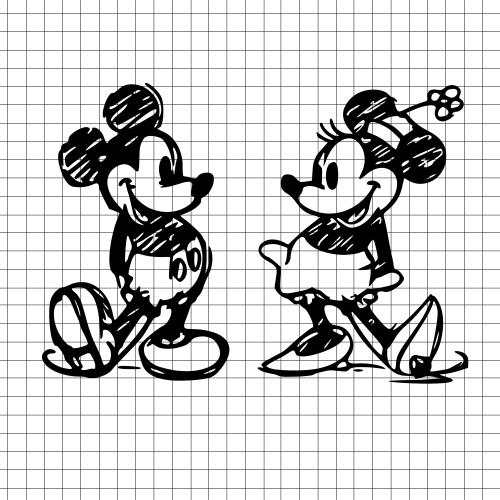 mickey and minnie svg #860, Download drawings