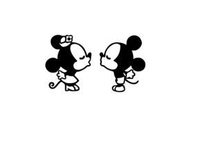 mickey and minnie svg #858, Download drawings