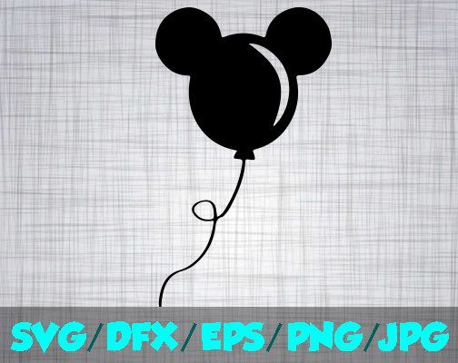 mickey balloon svg #472, Download drawings