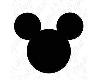 mickey silhouette svg #1247, Download drawings