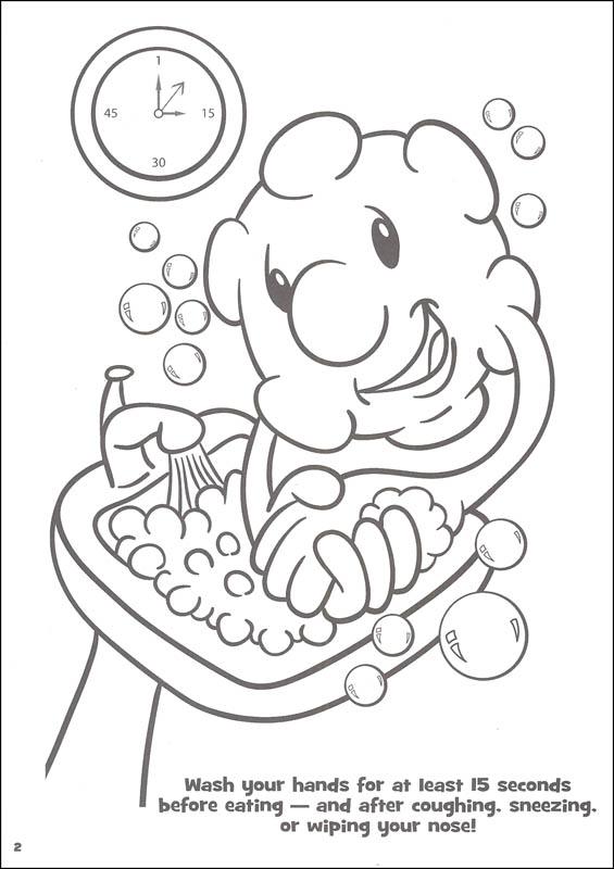 Microbe coloring #15, Download drawings