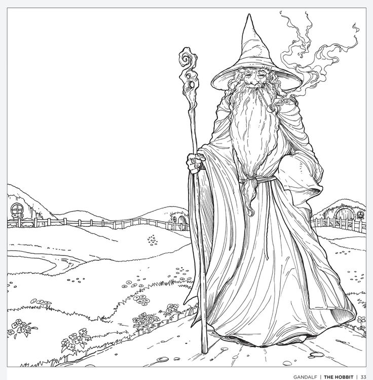 Middle Earth coloring #13, Download drawings