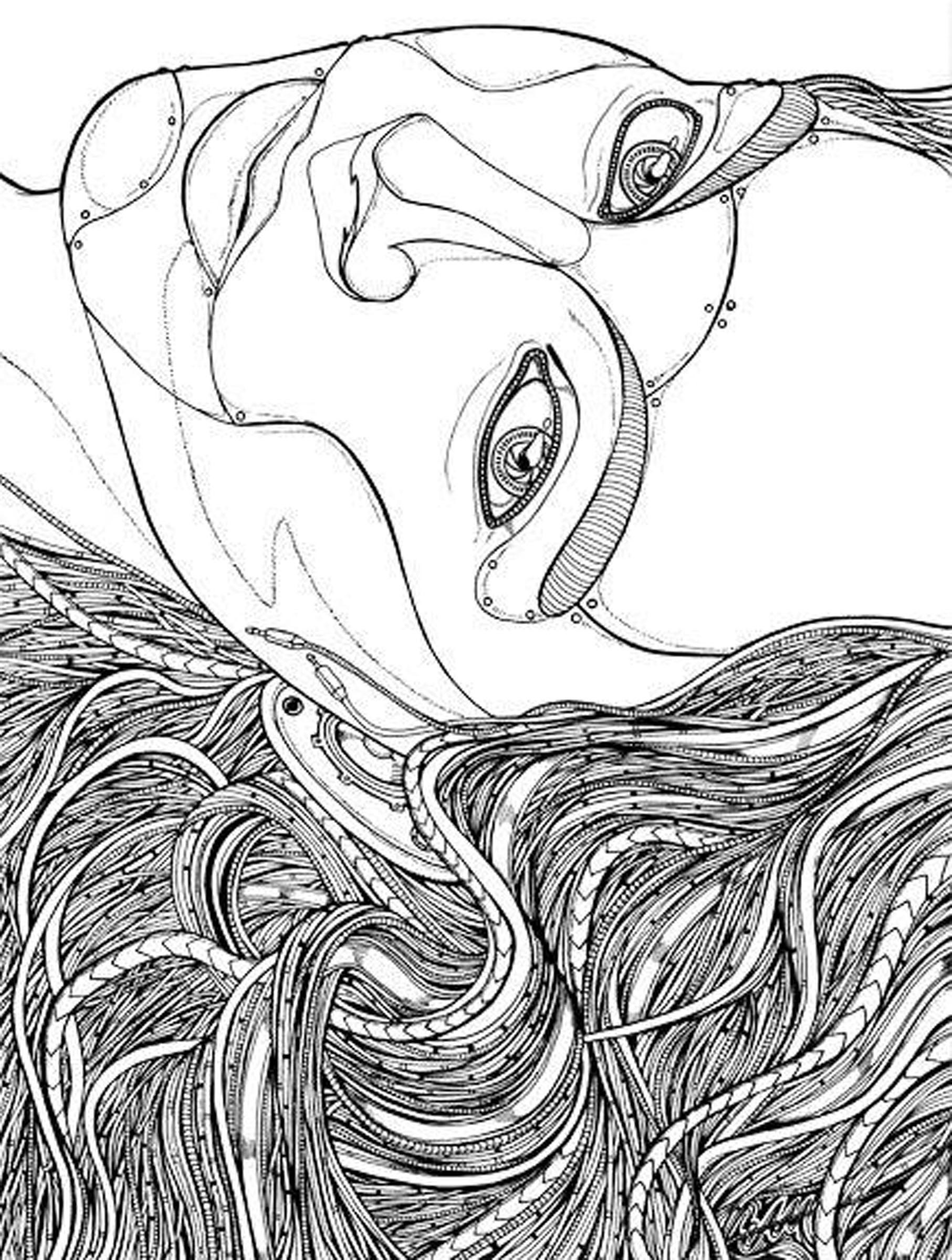 Miera & Mat coloring #20, Download drawings