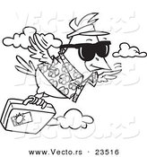 bird migration coloring pages - photo#16