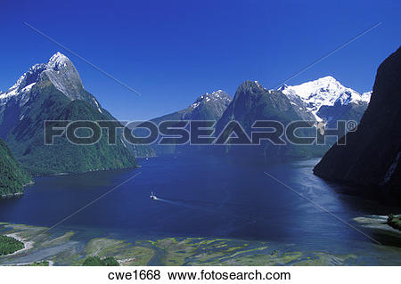 Milford Sound clipart #10, Download drawings