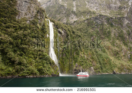 Milford Sound clipart #2, Download drawings