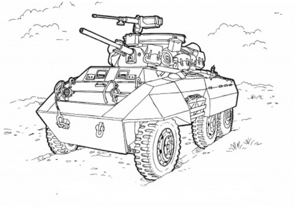 Military coloring #10, Download drawings