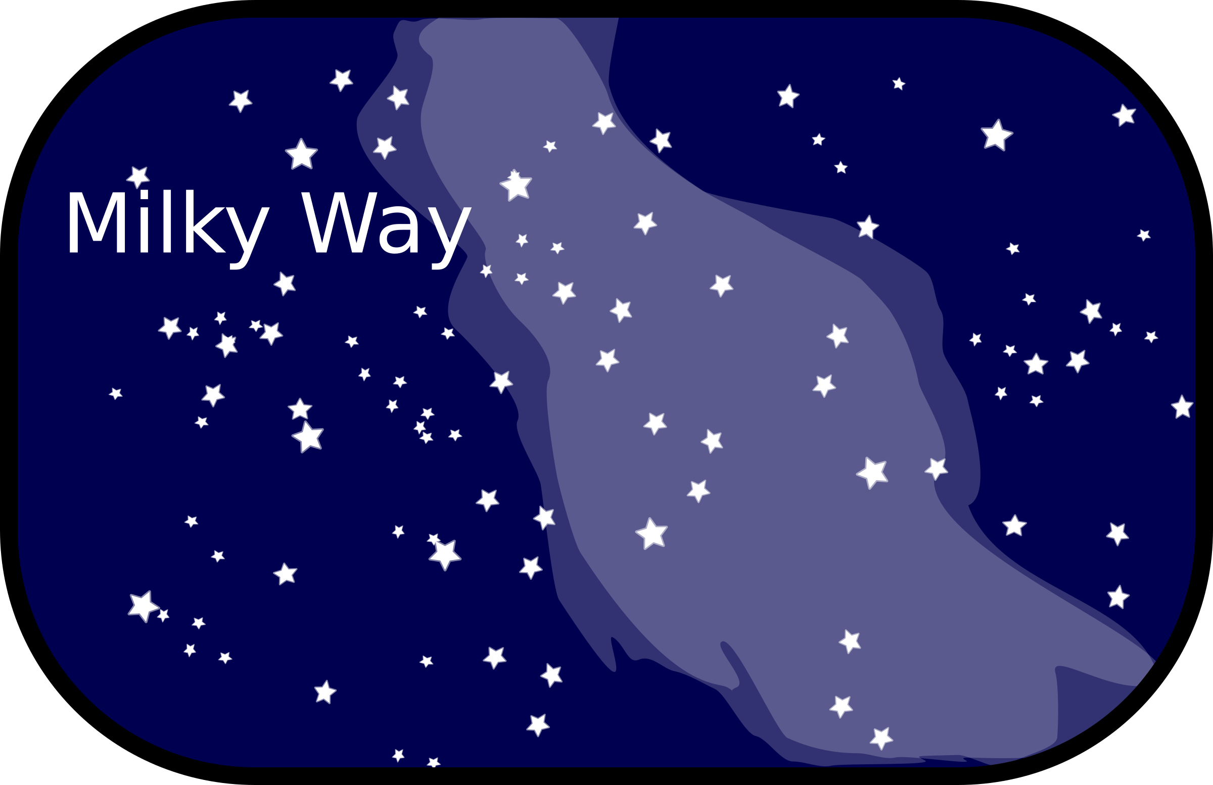 Milky Way clipart #9, Download drawings