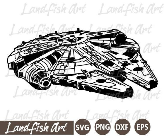 millennium falcon svg #853, Download drawings