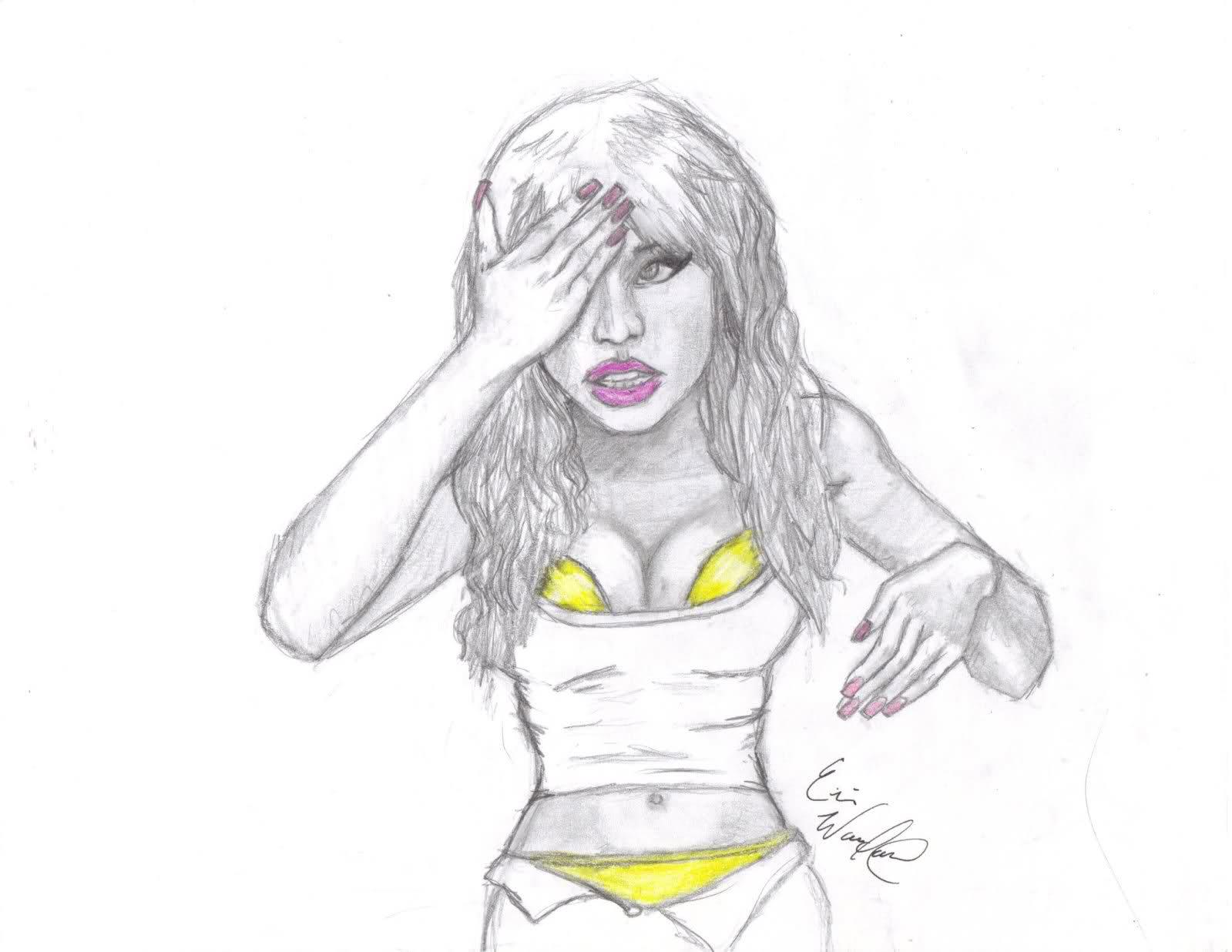 Minaj coloring #10, Download drawings