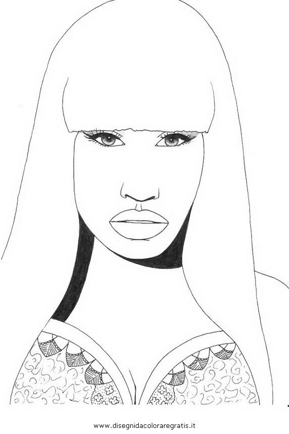 Minaj coloring #17, Download drawings