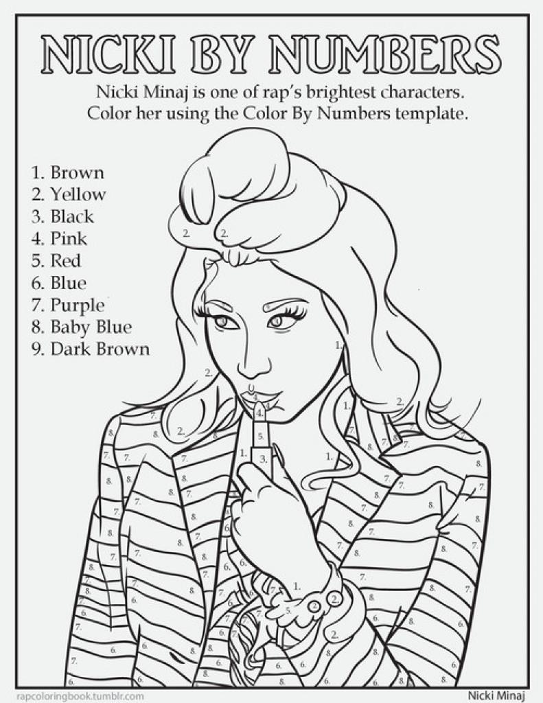 Minaj coloring #4, Download drawings