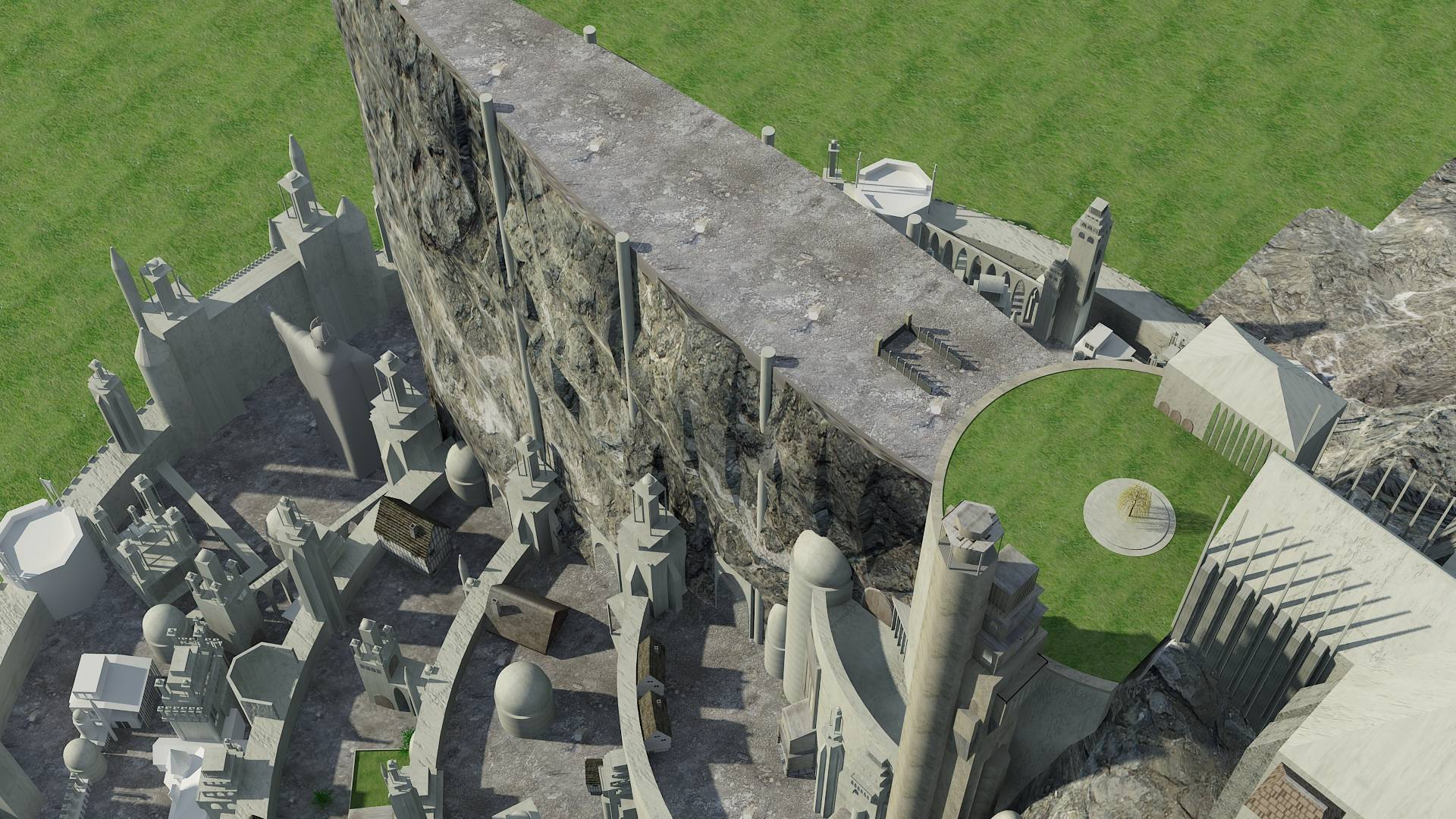 Minas Tirith clipart #4, Download drawings