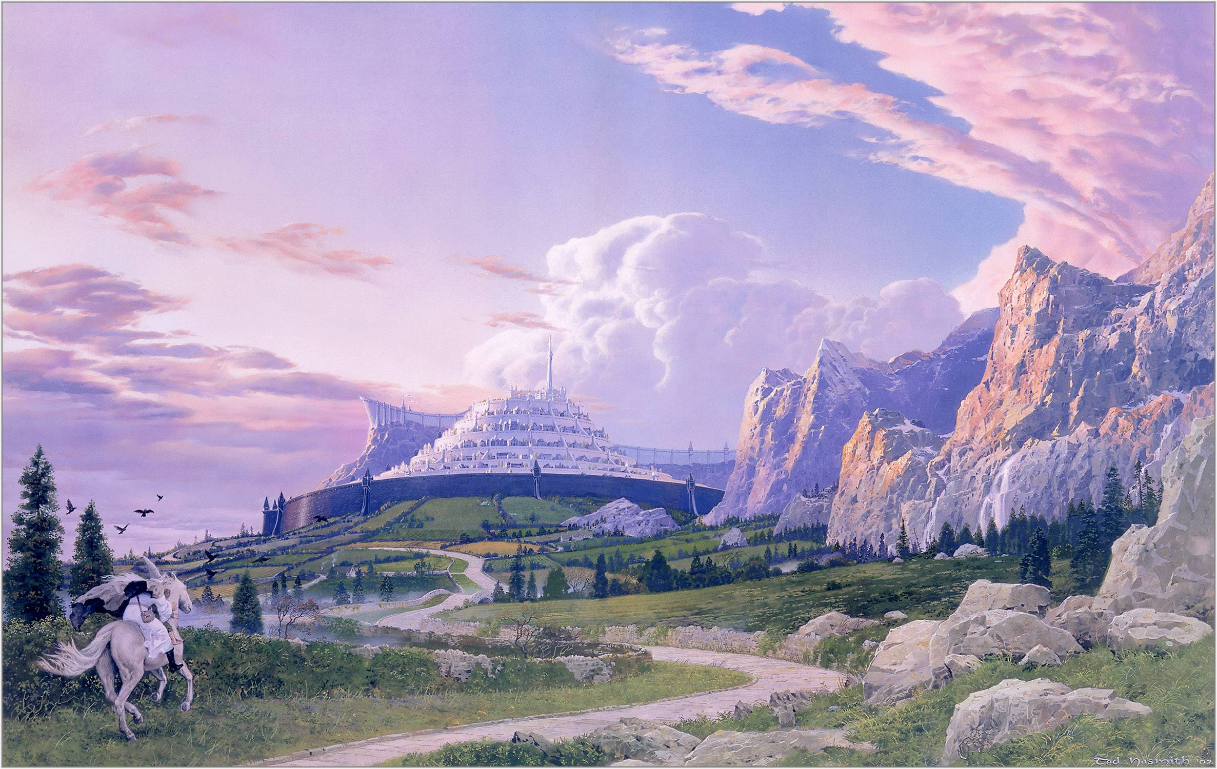 Minas Tirith clipart #5, Download drawings