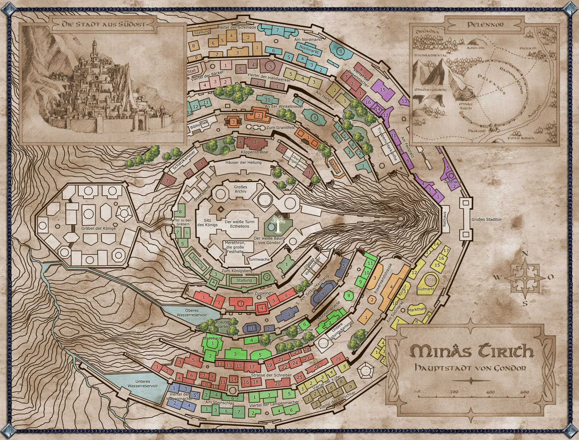 Minas Tirith clipart #2, Download drawings