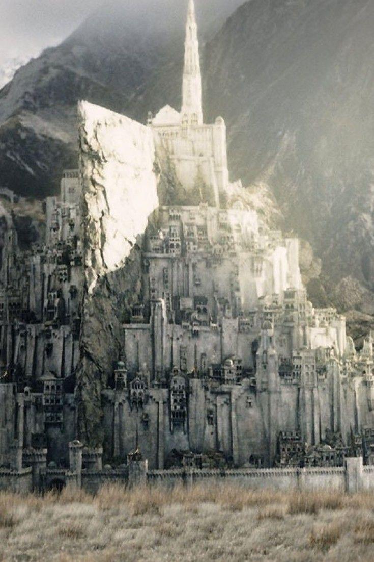 Minas Tirith coloring #9, Download drawings