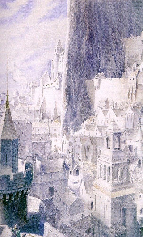 Minas Tirith coloring #10, Download drawings