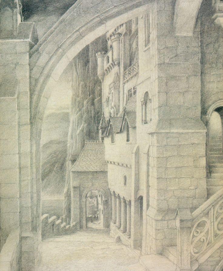 Minas Tirith coloring #16, Download drawings