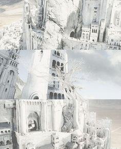 Minas Tirith coloring #14, Download drawings