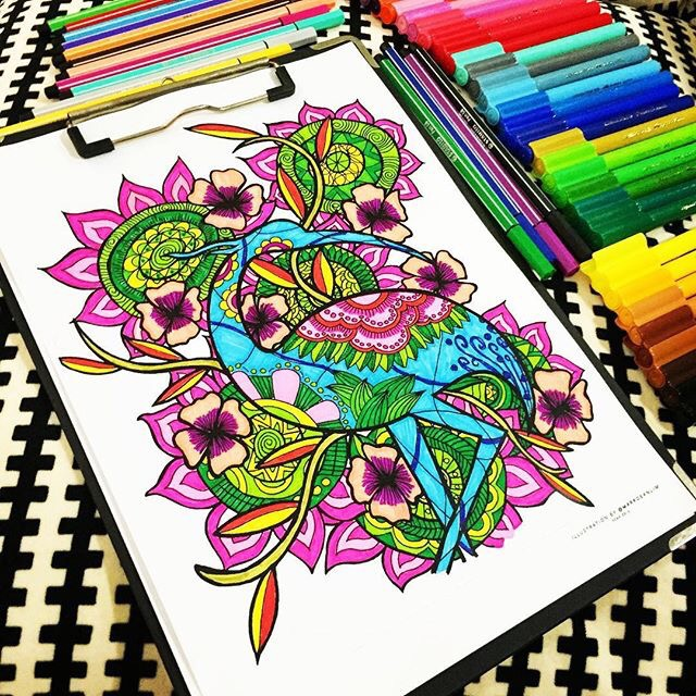 Mind coloring #9, Download drawings