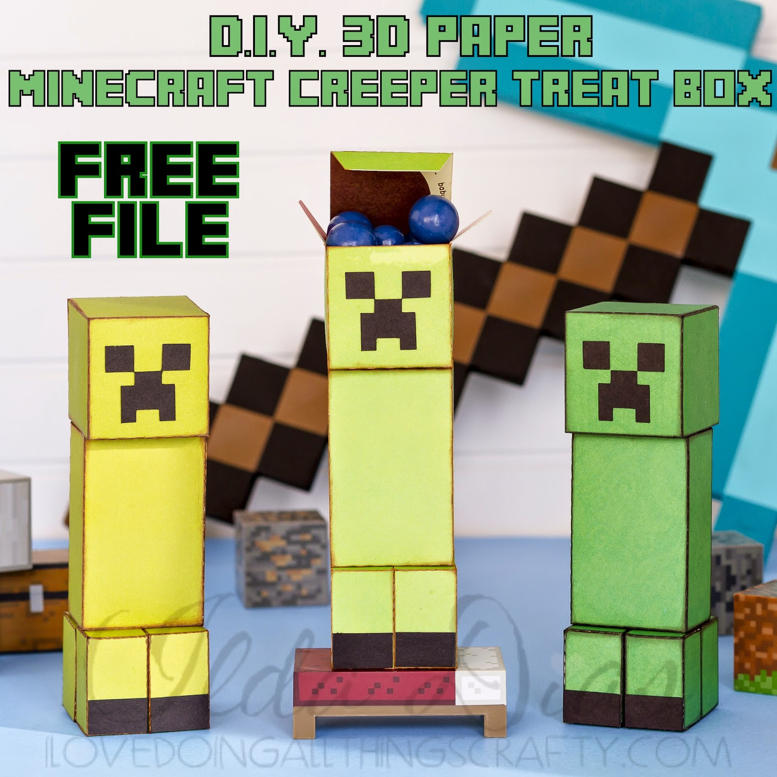 Minecraft svg #1, Download drawings