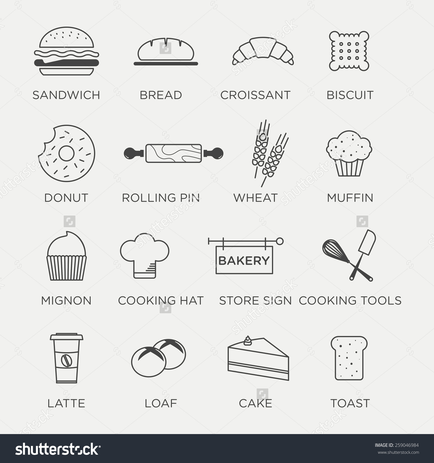 Minimalist clipart #9, Download drawings