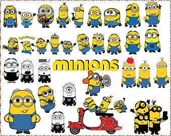 minion svg #686, Download drawings