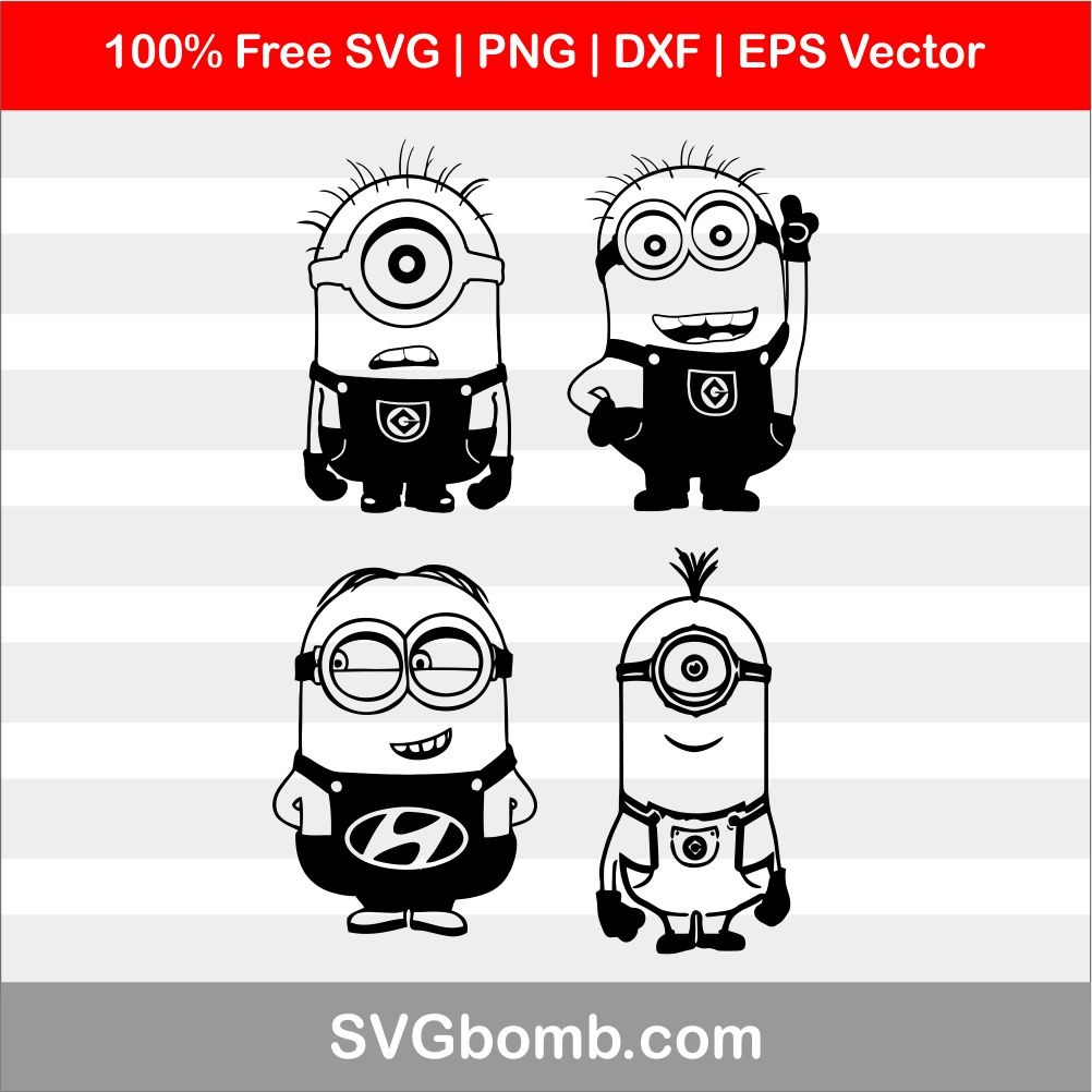 minion svg #701, Download drawings