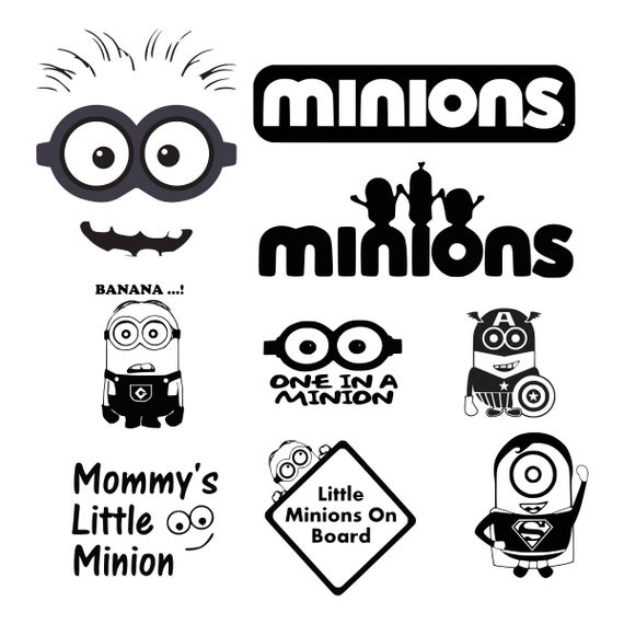 minion svg #690, Download drawings
