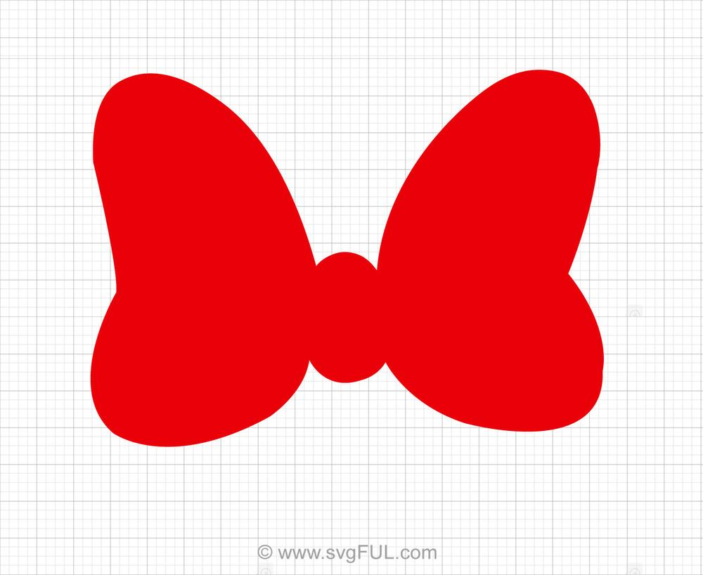 minnie bow svg #658, Download drawings