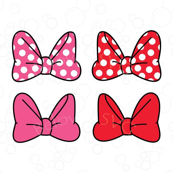 minnie bow svg #654, Download drawings