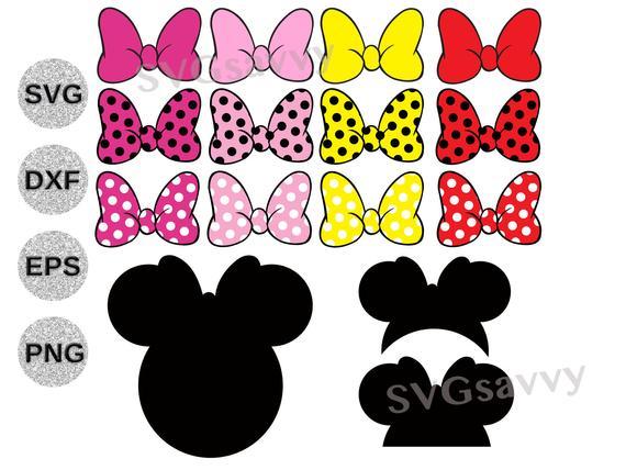 minnie ears svg #1053, Download drawings