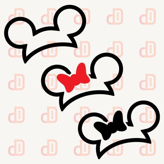 minnie ears svg #1049, Download drawings