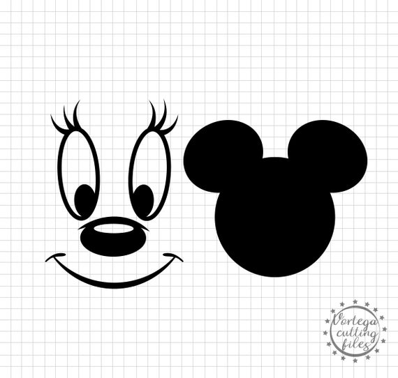 minnie mouse face svg #811, Download drawings