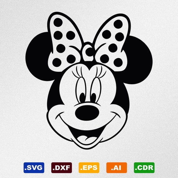 minnie mouse face svg #813, Download drawings