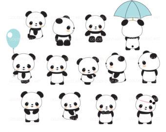 Minor Panda clipart #1, Download drawings