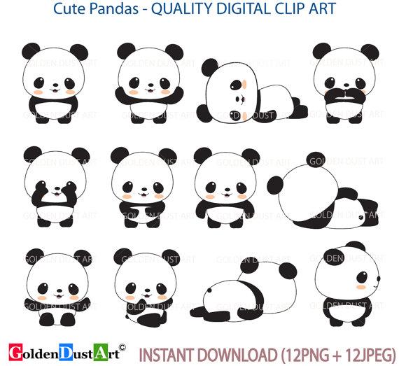 Minor Panda clipart #14, Download drawings